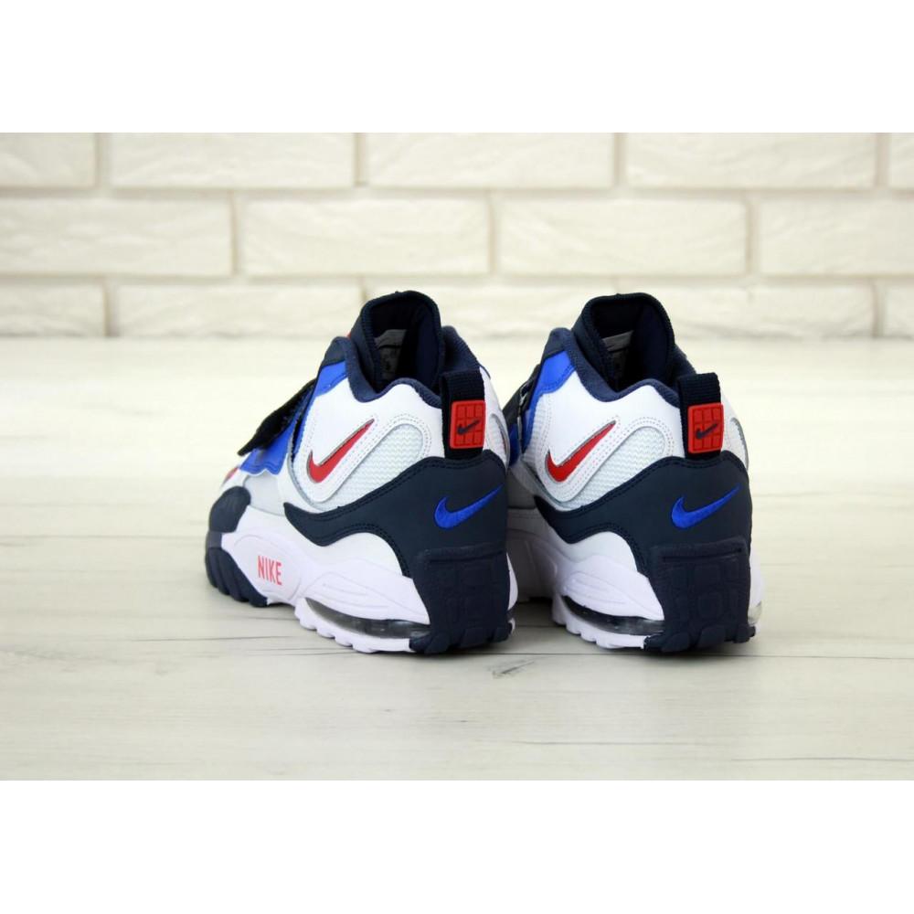Демисезонные кроссовки мужские   - Мужские кроссовки Nike Air Max Speed Turf в бело-синем цвете 5