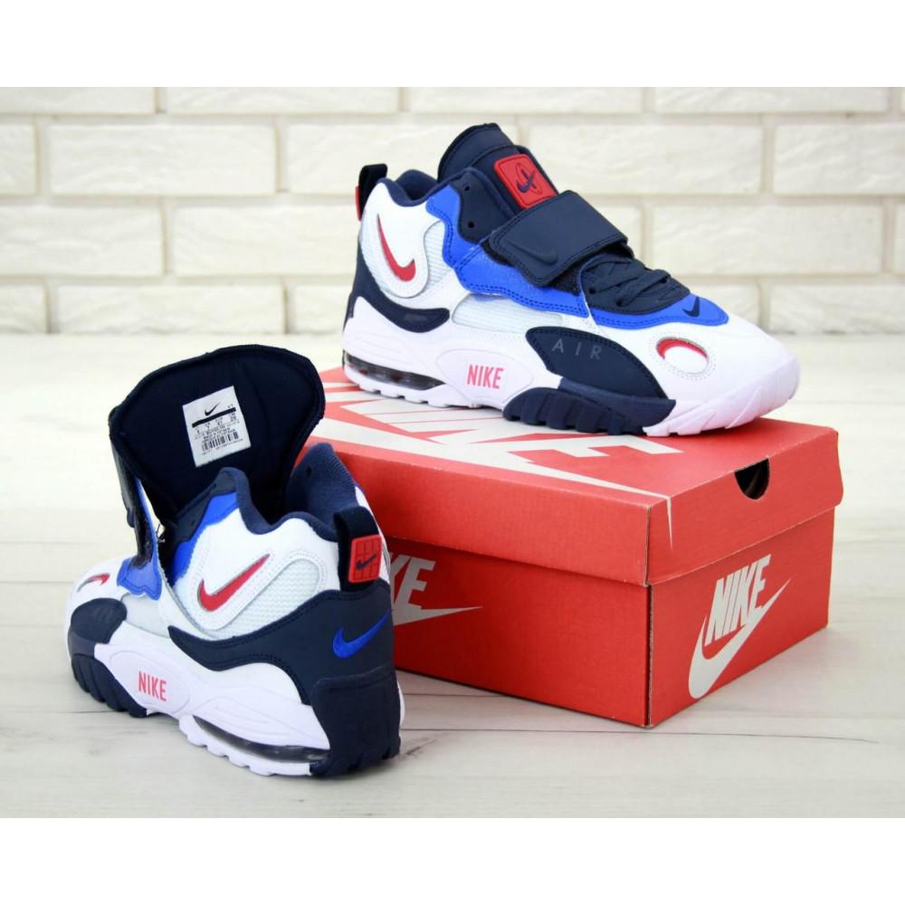 Демисезонные кроссовки мужские   - Мужские кроссовки Nike Air Max Speed Turf в бело-синем цвете 4