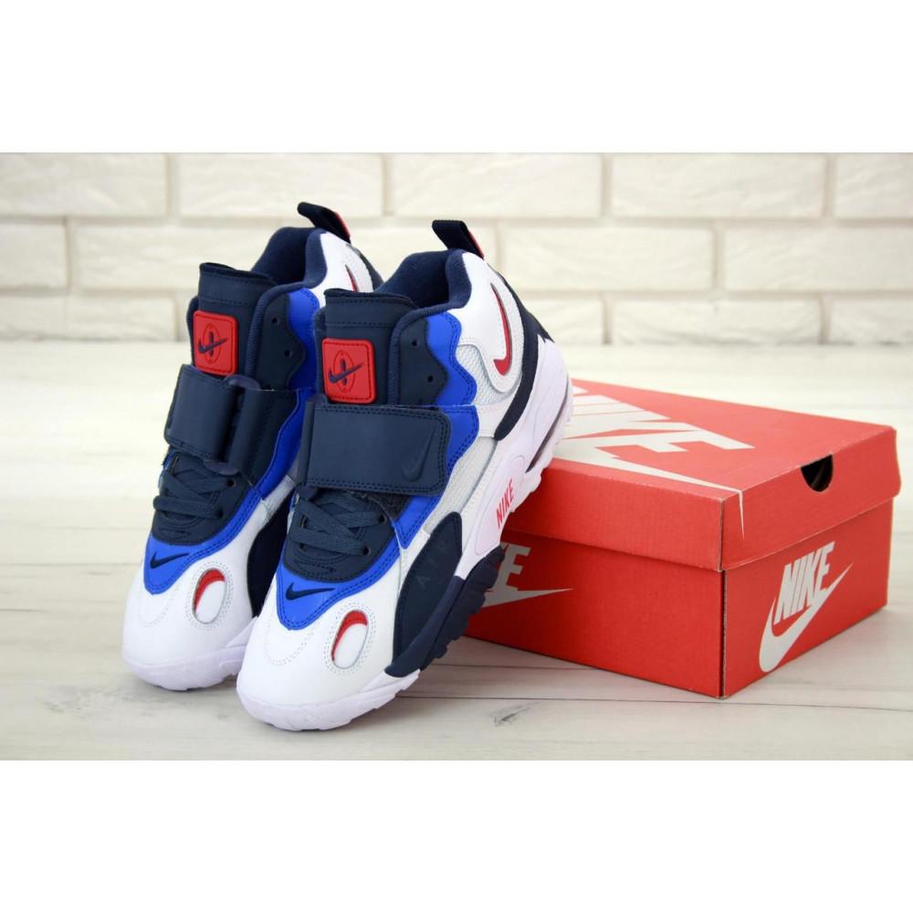 Демисезонные кроссовки мужские   - Мужские кроссовки Nike Air Max Speed Turf в бело-синем цвете