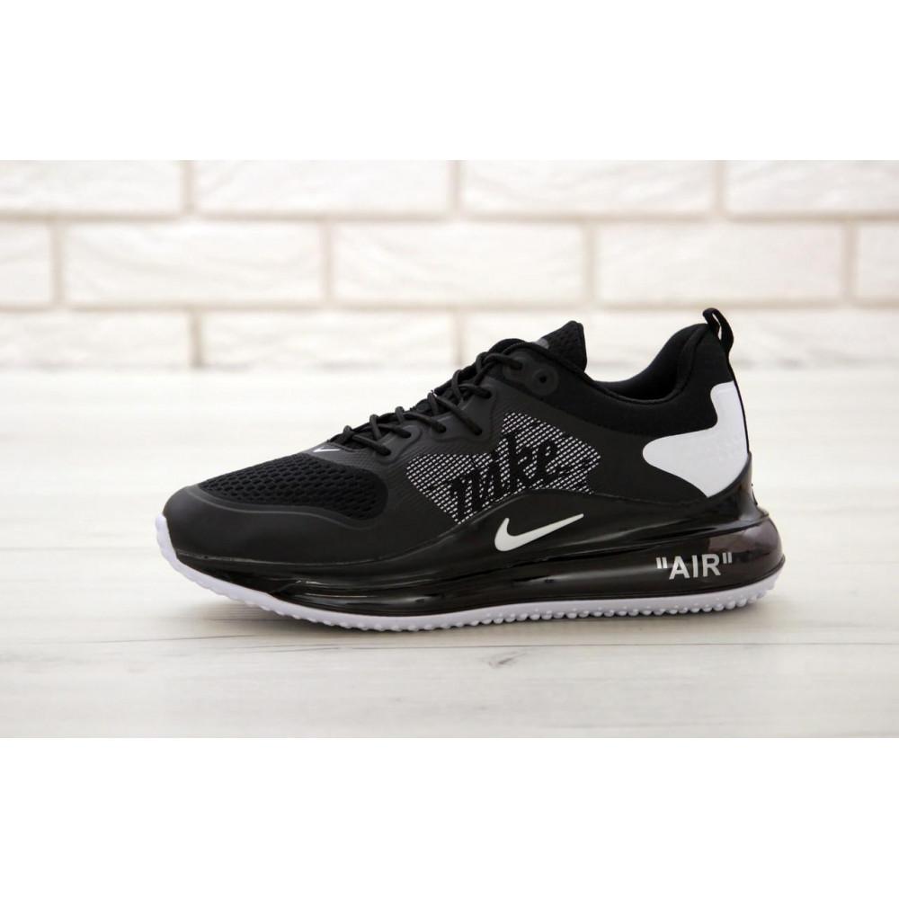 Классические кроссовки мужские - Мужские кроссовки Найк Аир Макс 720 черного цвета