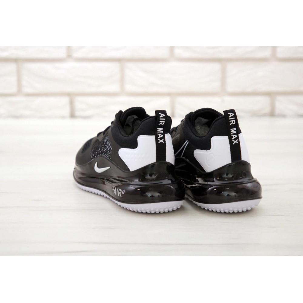 Классические кроссовки мужские - Мужские кроссовки Найк Аир Макс 720 черного цвета 4