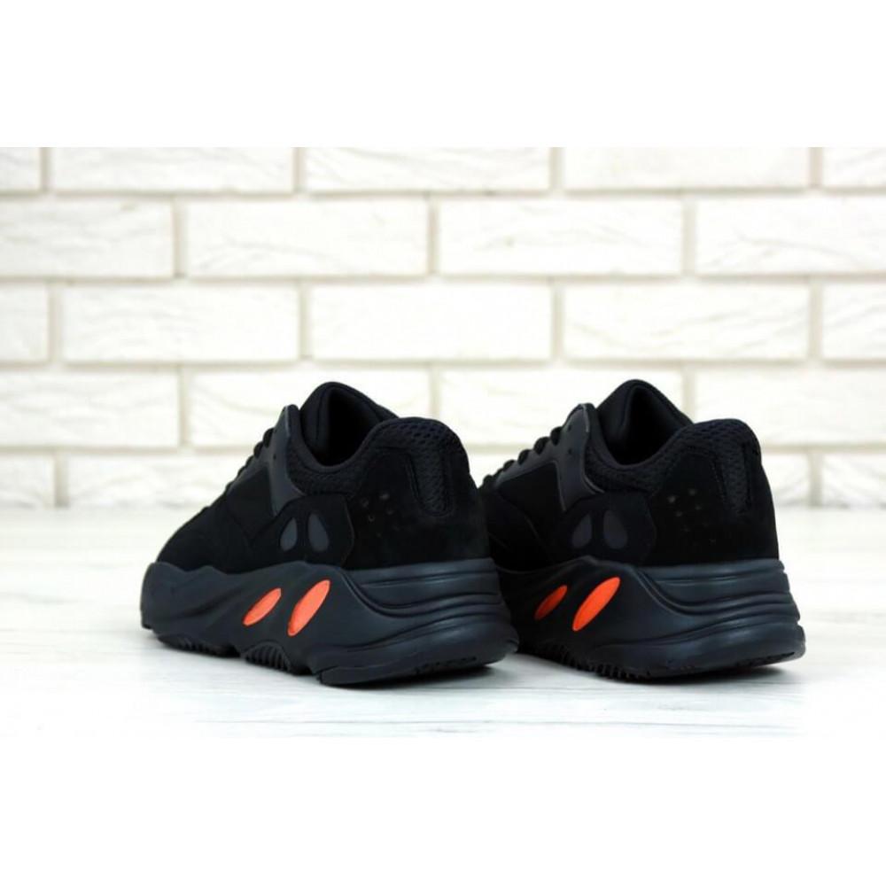 Беговые кроссовки мужские  - Мужские черные кроссовки Adidas Yeezy Boost 700 Wave Runner 2