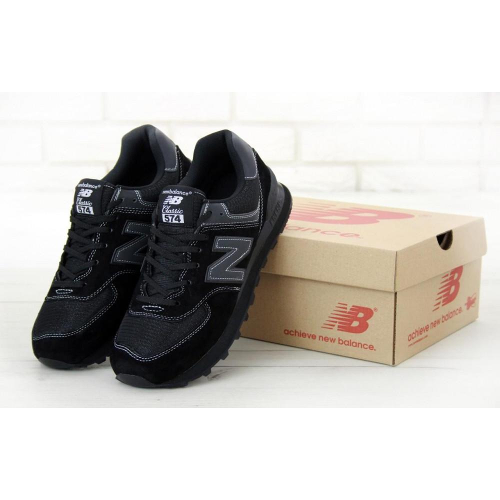 Кроссовки - Мужские черные кроссовки New Balance 574
