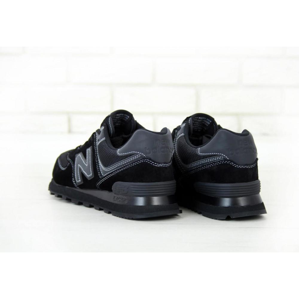 Кроссовки - Мужские черные кроссовки New Balance 574 3