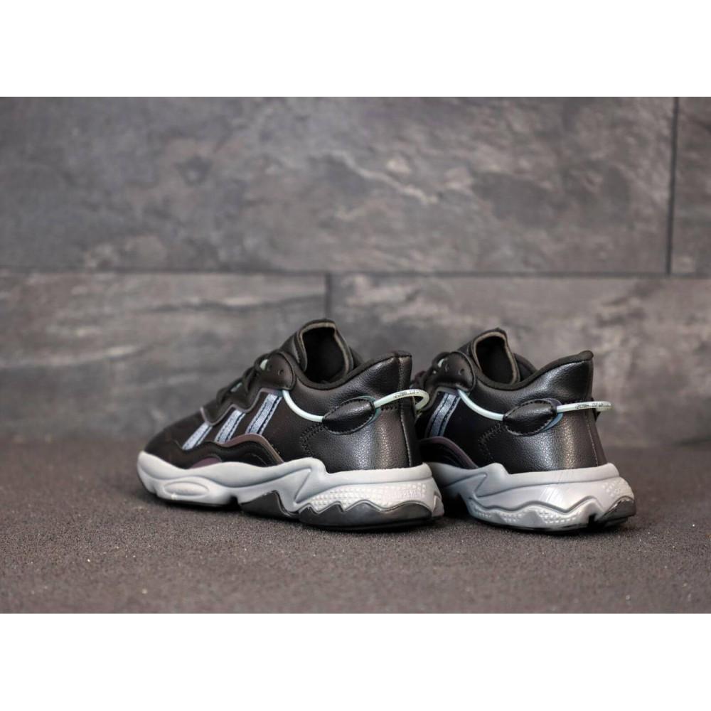 Кроссовки - Мужские кроссовки Adidas Ozweego черного цвета 4