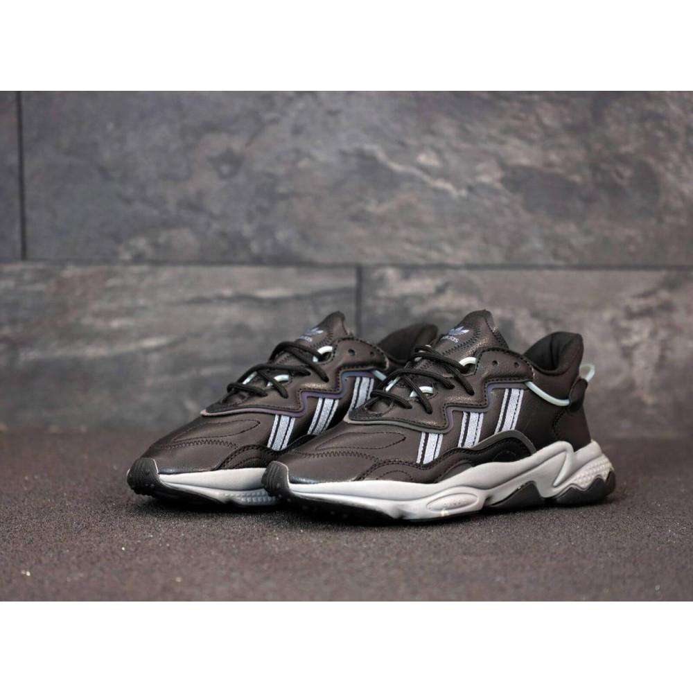 Кроссовки - Мужские кроссовки Adidas Ozweego черного цвета 2