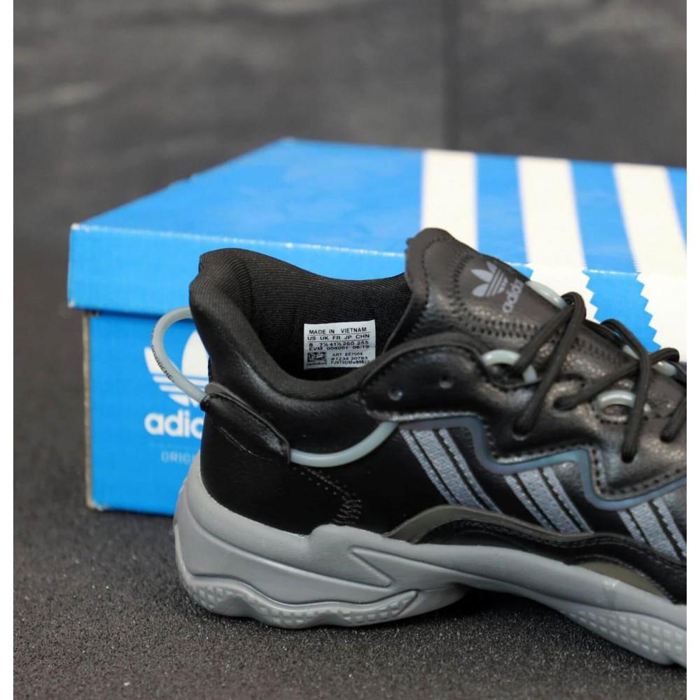 Кроссовки - Мужские кроссовки Adidas Ozweego черного цвета 5