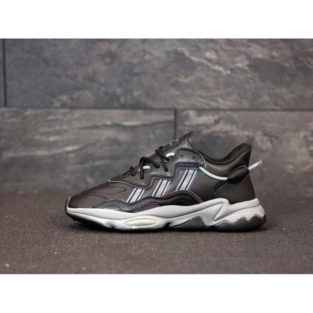 Кроссовки - Мужские кроссовки Adidas Ozweego черного цвета 1