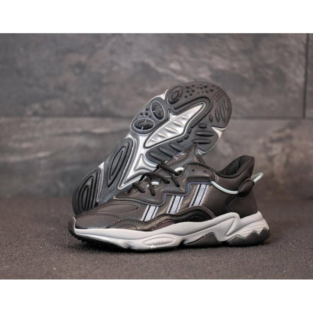 Кроссовки - Мужские кроссовки Adidas Ozweego черного цвета