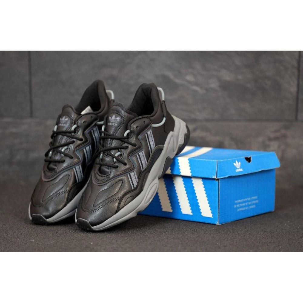 Кроссовки - Мужские кроссовки Adidas Ozweego черного цвета 3