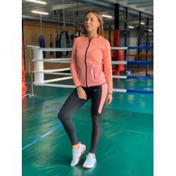 Комплект костюм спортивный компрессионный  женский  Nike Найк  ( S-M, L-XL )