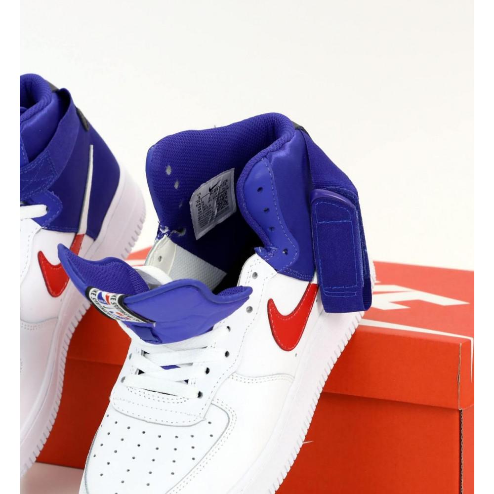 Демисезонные кроссовки мужские   - Мужские высокие кроссовки Air Force 1 Mid NBA 3