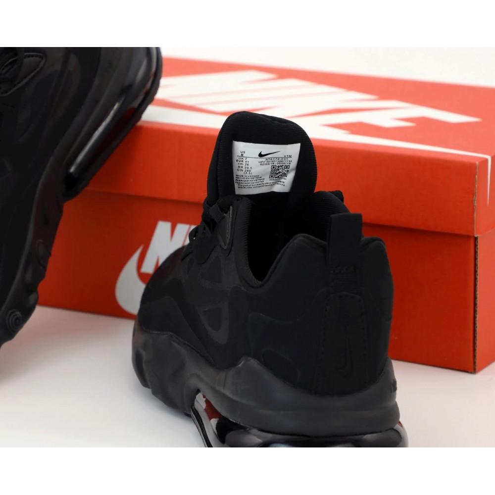 Демисезонные кроссовки мужские   - Мужские кроссовки Air Max 270 React Black 4