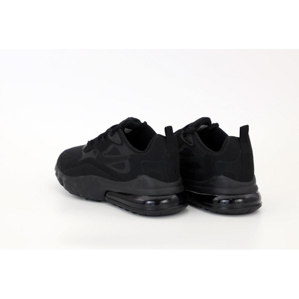 Демисезонные кроссовки мужские   - Мужские кроссовки Air Max 270 React Black 5