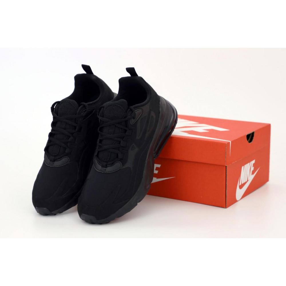 Демисезонные кроссовки мужские   - Мужские кроссовки Air Max 270 React Black
