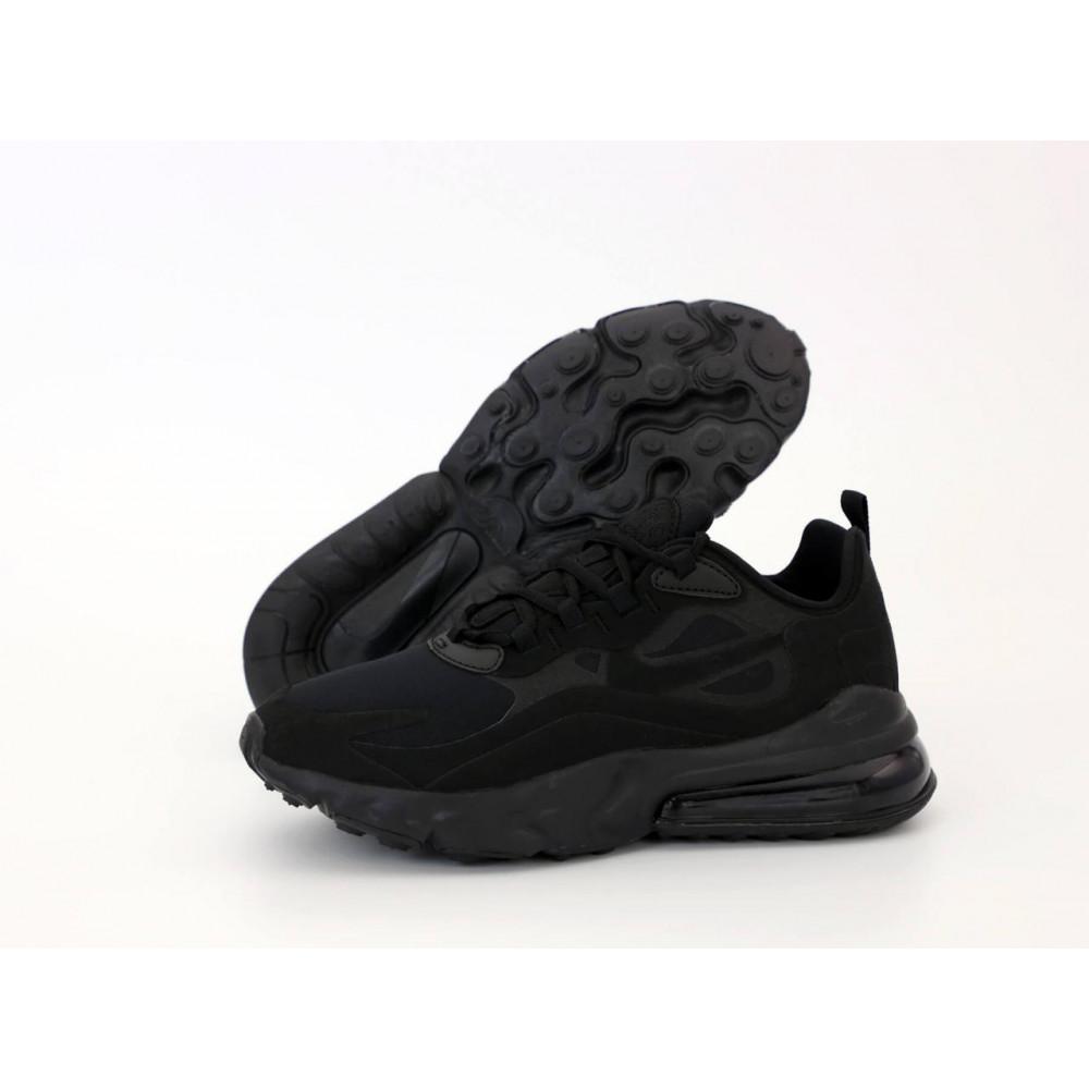 Демисезонные кроссовки мужские   - Мужские кроссовки Air Max 270 React Black 2