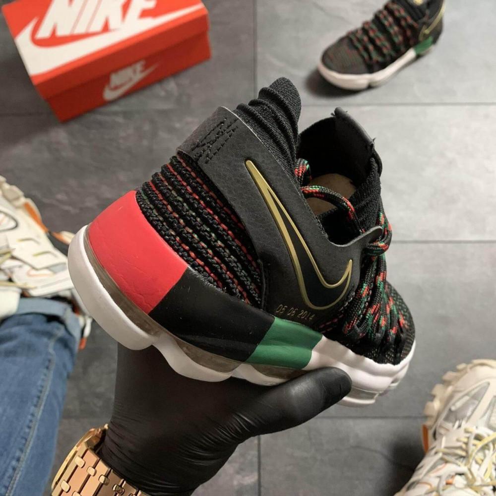Демисезонные кроссовки мужские   - Баскетбольные кроссовки Nike KD 10 Black 7