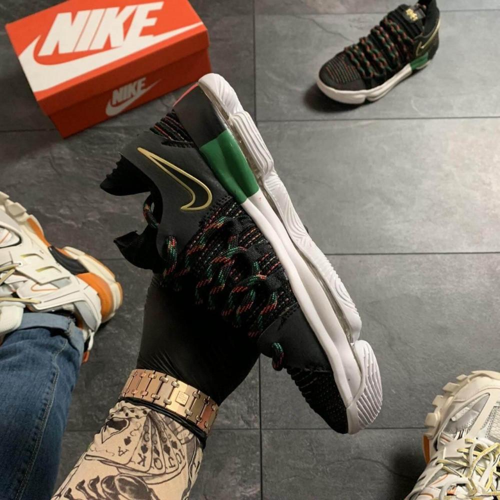 Демисезонные кроссовки мужские   - Баскетбольные кроссовки Nike KD 10 Black 5