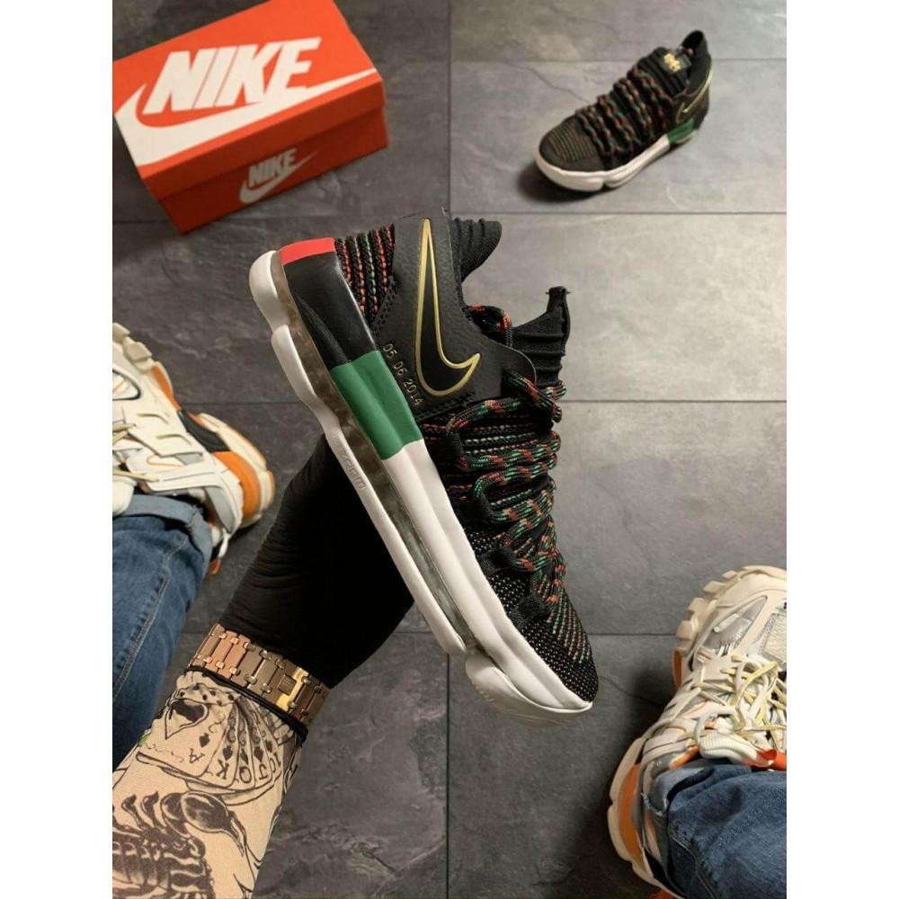Демисезонные кроссовки мужские   - Баскетбольные кроссовки Nike KD 10 Black 2