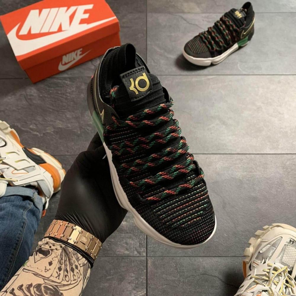Демисезонные кроссовки мужские   - Баскетбольные кроссовки Nike KD 10 Black 8