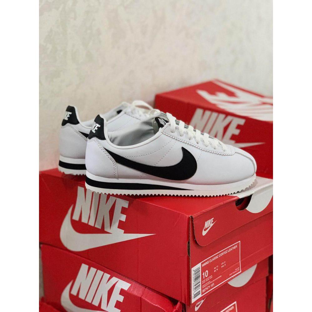 Кожаные кроссовки мужские - Белые кожаные кроссовки Nike Cortez Leather 2