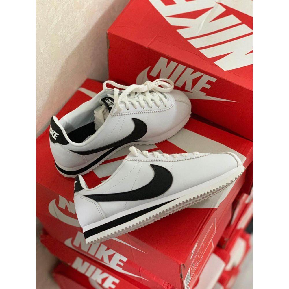 Кожаные кроссовки мужские - Белые кожаные кроссовки Nike Cortez Leather 1