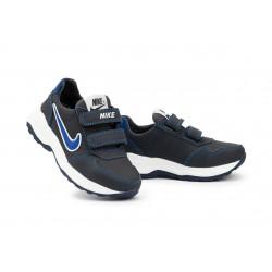 Детские кроссовки кожаные весна/осень синие-голубые CrosSAV 40L
