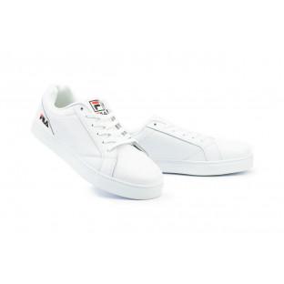 Мужские кроссовки искусственная кожа весна/осень белые Classica G 5112 -1