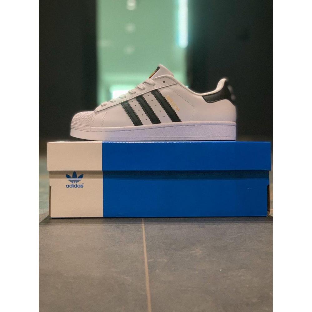 Классические кроссовки мужские - Кроссовки мужские Adidas Superstar Адидас Адідас Суперстар  ⏩ [41,43,44,45] 2