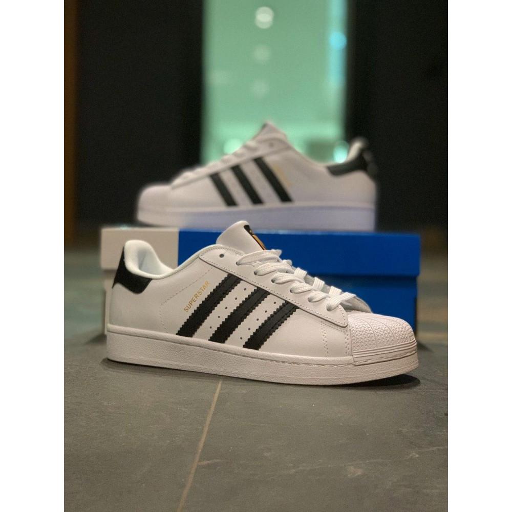 Классические кроссовки мужские - Кроссовки мужские Adidas Superstar Адидас Адідас Суперстар  ⏩ [41,43,44,45]