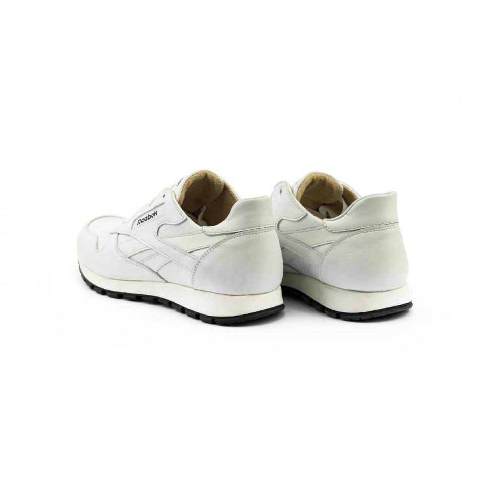 Кожаные кроссовки мужские - Мужские кроссовки кожаные весна/осень белые-белые Lions R16 7