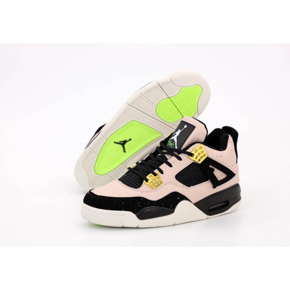 Демисезонные кроссовки мужские   - Баскетбольные кроссовки Air Jordan 4 Retro 1