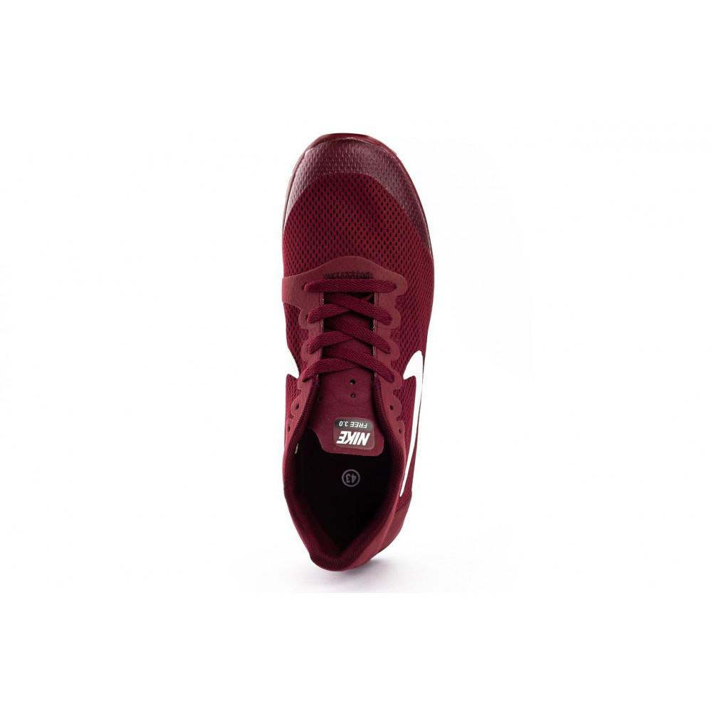 Летние кроссовки мужские - Мужские кроссовки текстильные летние бордовые Classica G 9385 -1 3