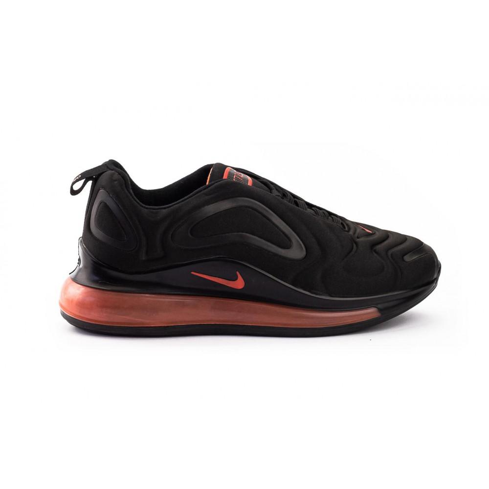 Демисезонные кроссовки мужские   - Мужские кроссовки текстильные весна/осень черные Ditof A 1154 -4 1