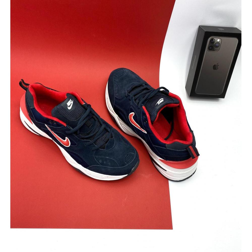 Классические кроссовки мужские - Мужские кроссовки искусственная замша весна/осень синие G5092-2 9
