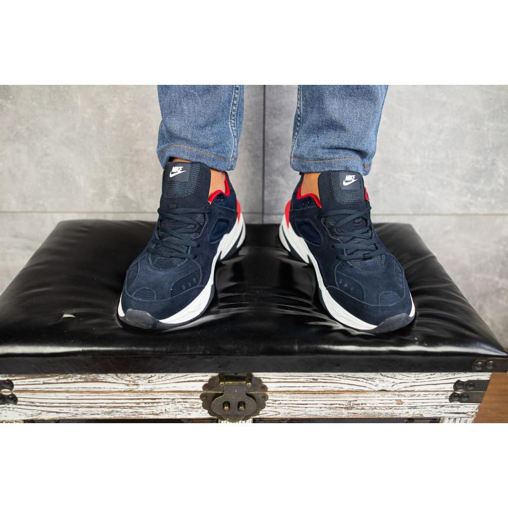 Классические кроссовки мужские - Мужские кроссовки искусственная замша весна/осень синие G5092-2 1