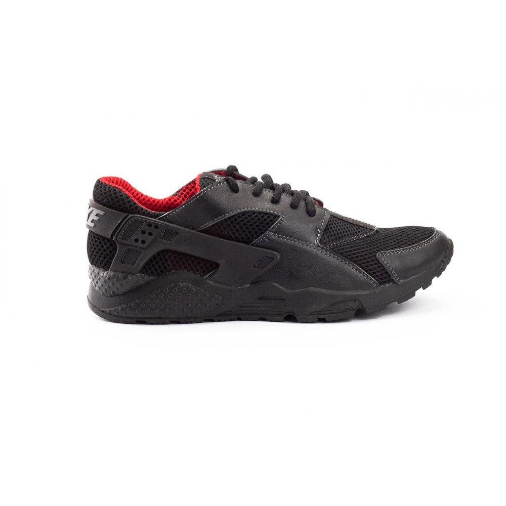 Летние кроссовки мужские - Мужские кроссовки текстильные летние черные-красные Twix ХУАР 1