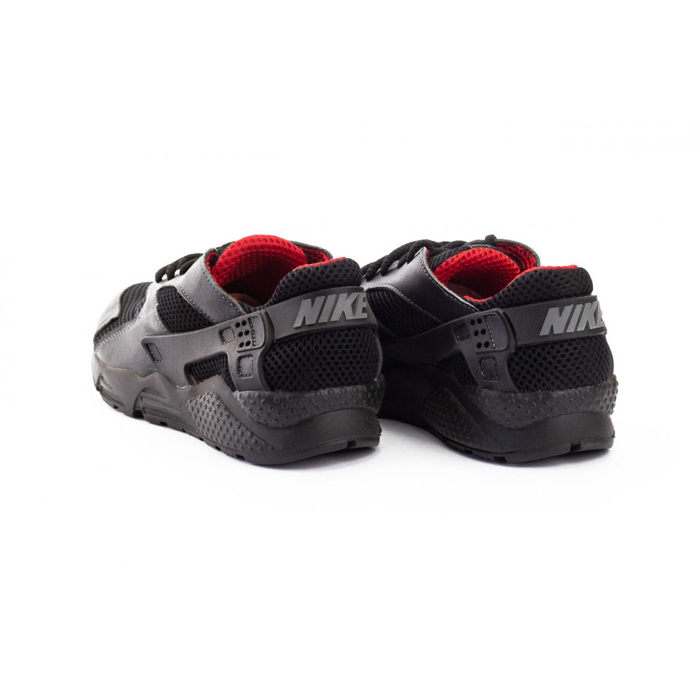 Летние кроссовки мужские - Мужские кроссовки текстильные летние черные-красные Twix ХУАР 4
