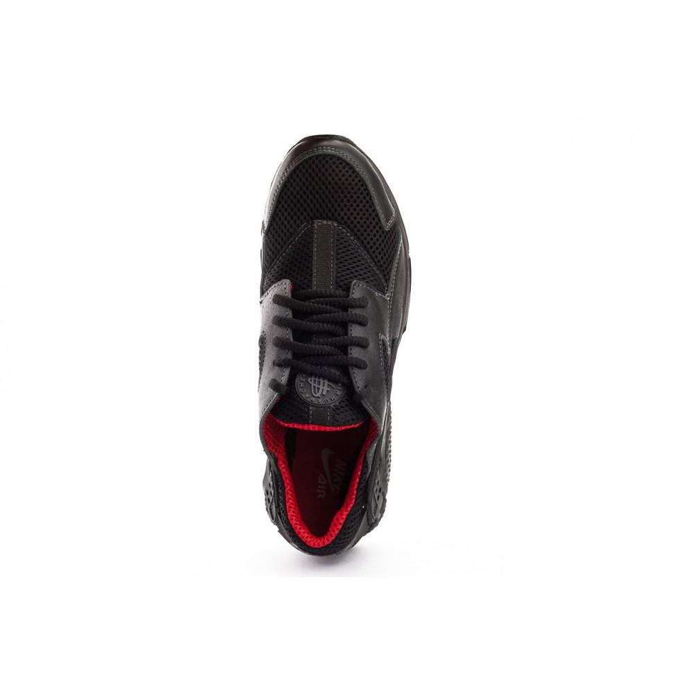 Летние кроссовки мужские - Мужские кроссовки текстильные летние черные-красные Twix ХУАР 3