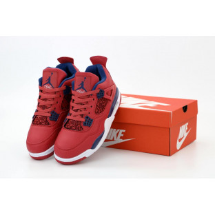 Баскетбольные кроссовки Air Jordan 4 Retro Flight Red