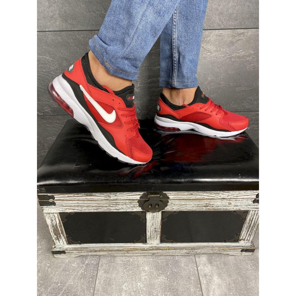 Демисезонные кроссовки мужские   - Мужские кроссовки текстильные весна/осень красные Classica G 5114 -2 5