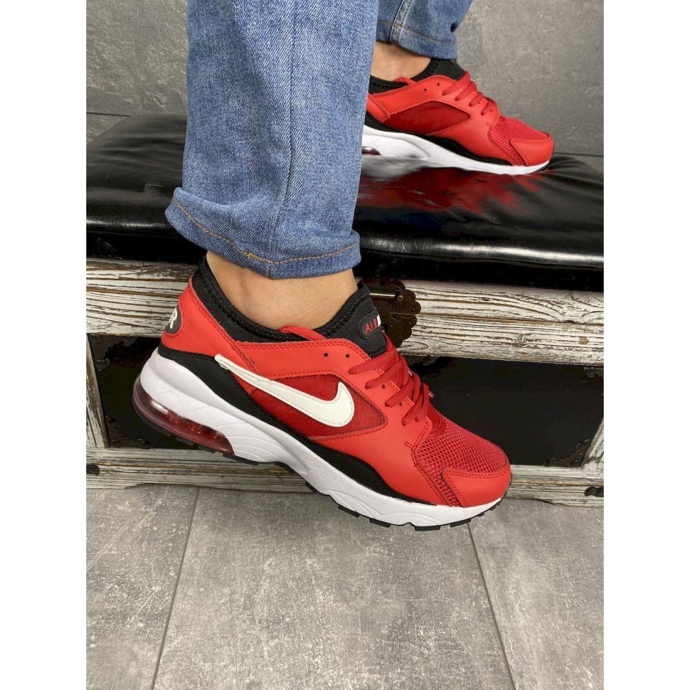 Демисезонные кроссовки мужские   - Мужские кроссовки текстильные весна/осень красные Classica G 5114 -2 3
