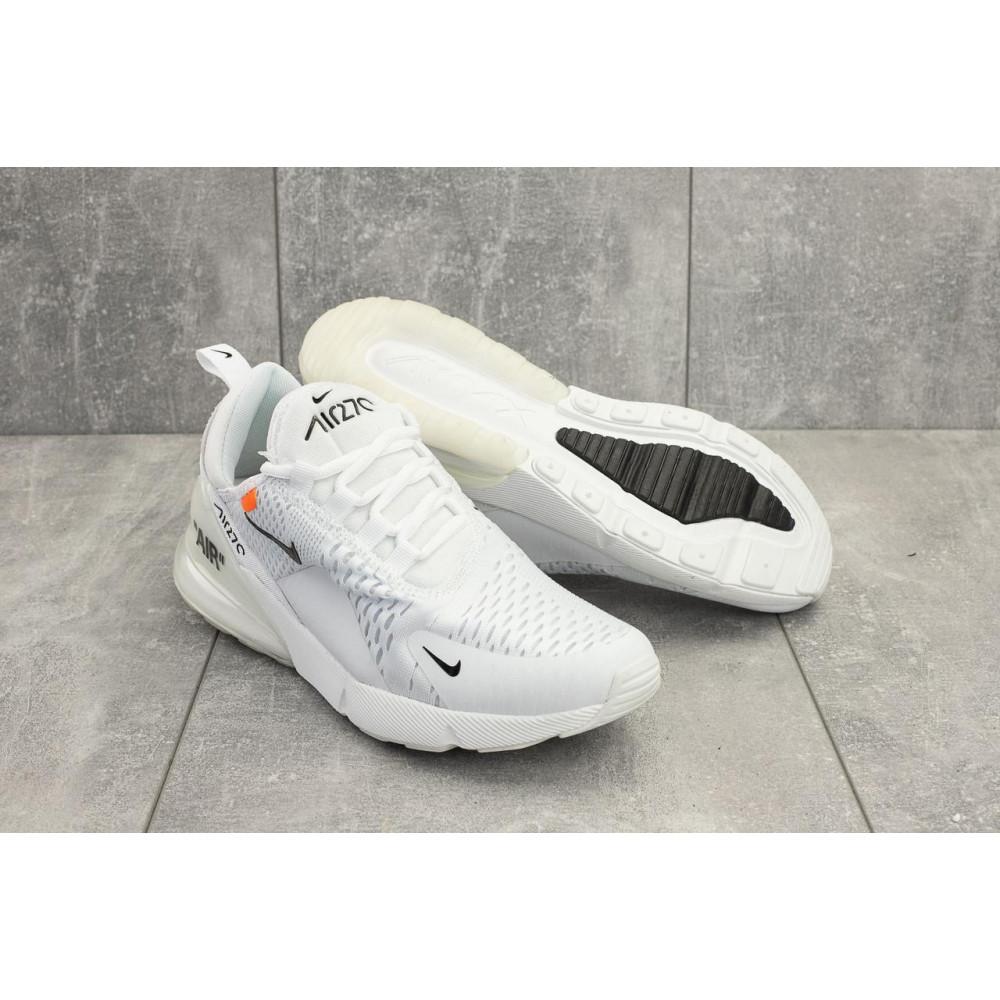 Демисезонные кроссовки мужские   - Мужские кроссовки текстильные весна/осень белые Aoka A 936 -2 1
