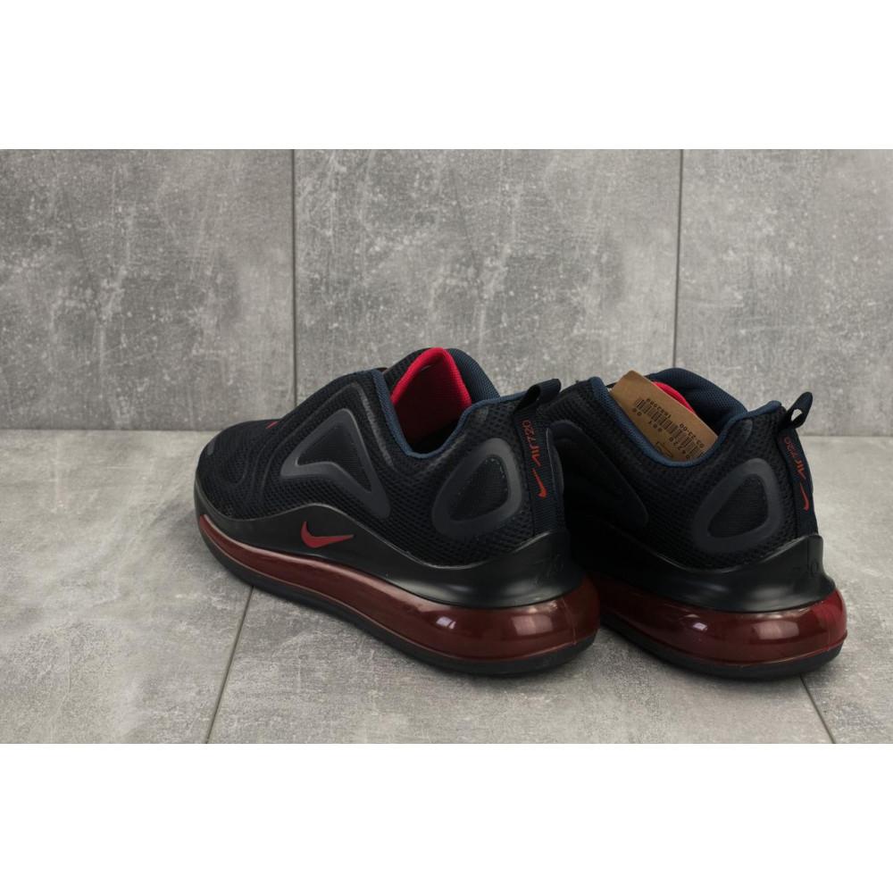 Демисезонные кроссовки мужские   - Мужские кроссовки текстильные весна/осень синие Ditof A 1125 -4 3