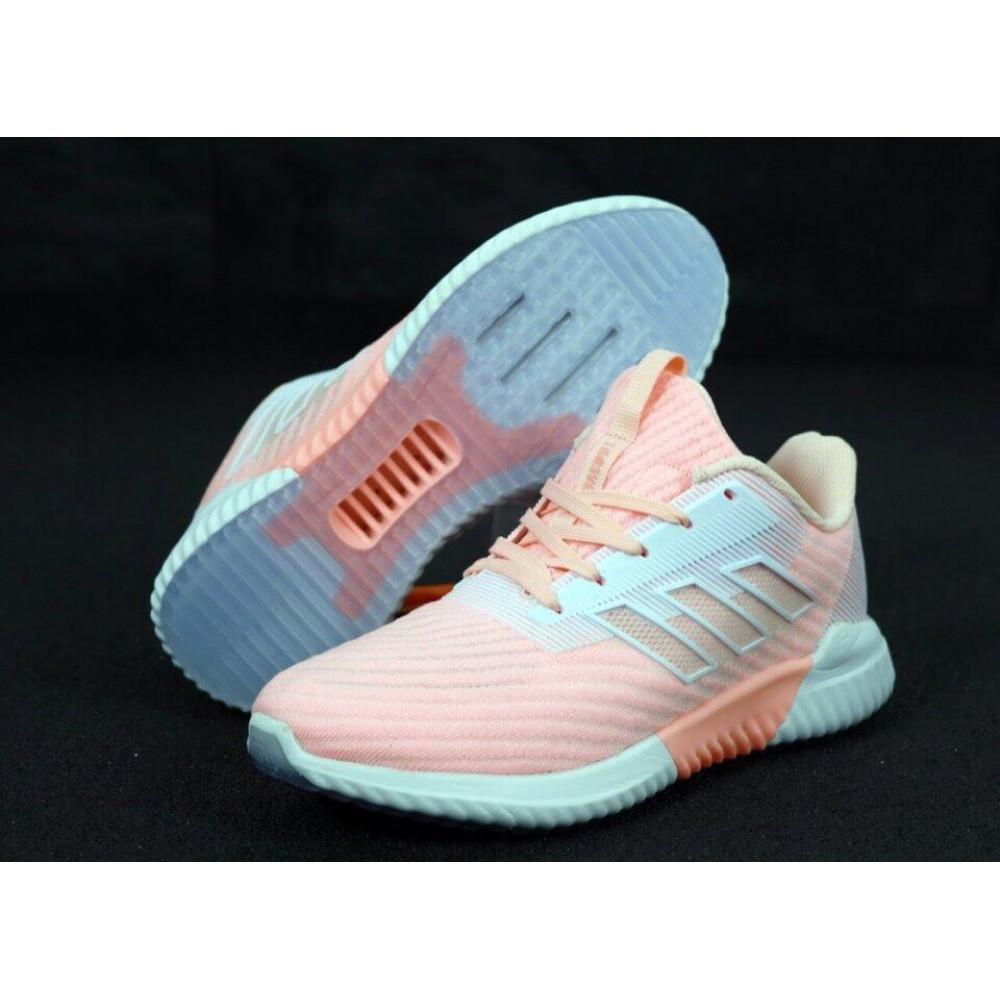 Женские кроссовки классические  - Женские кроссовки Adidas Climacool в розовом цвете 1