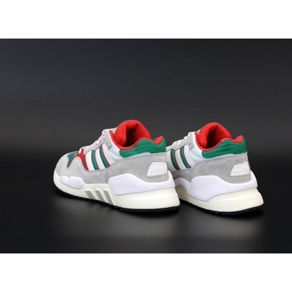 Беговые кроссовки мужские  - Мужские кроссовки Adidas EQT серого цвета 4