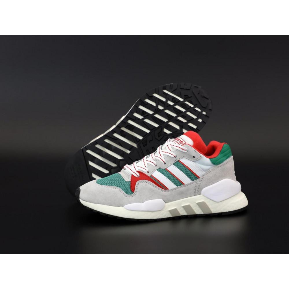 Беговые кроссовки мужские  - Мужские кроссовки Adidas EQT серого цвета 1