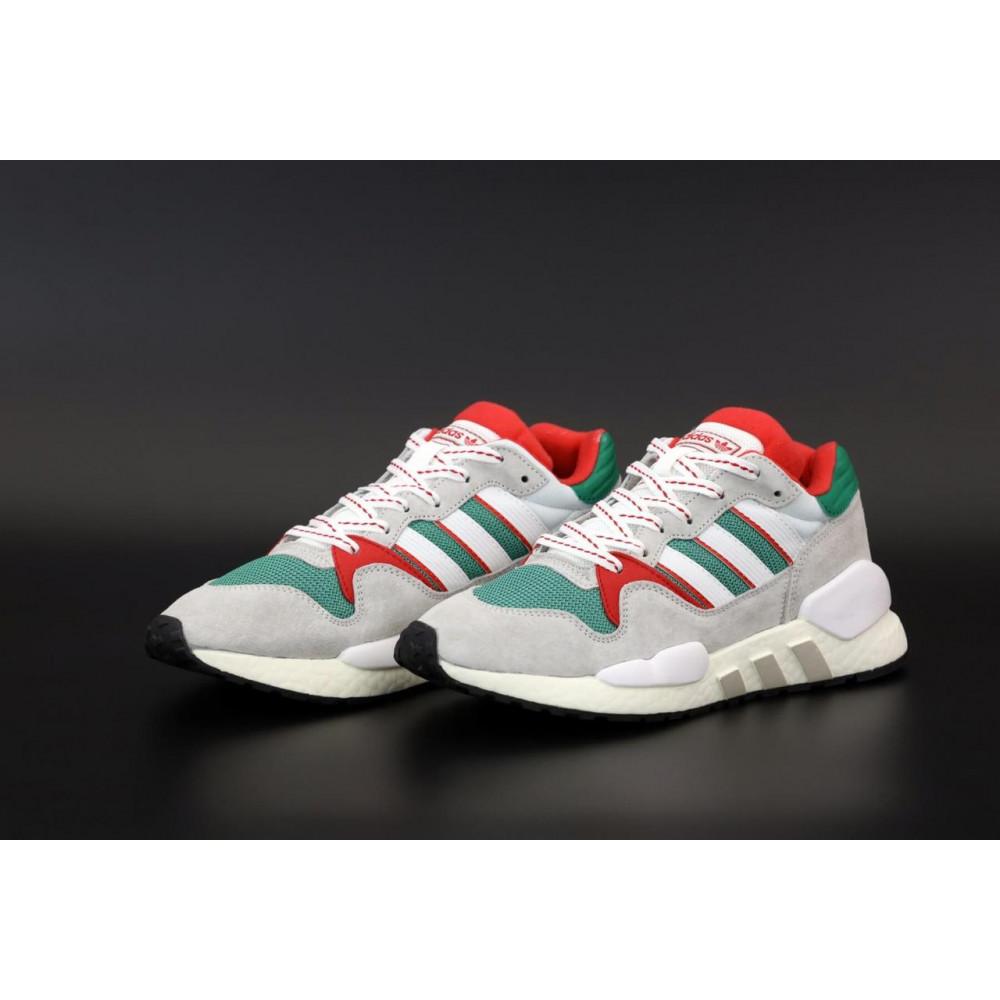 Беговые кроссовки мужские  - Мужские кроссовки Adidas EQT серого цвета 3