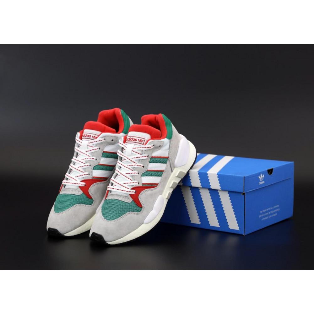 Беговые кроссовки мужские  - Мужские кроссовки Adidas EQT серого цвета