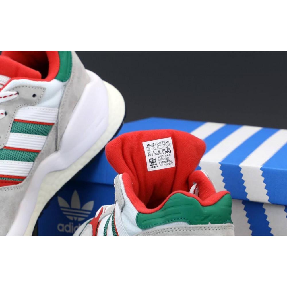 Беговые кроссовки мужские  - Мужские кроссовки Adidas EQT серого цвета 5